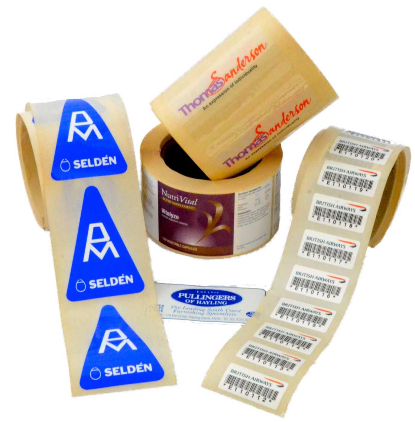 Various labels DSC 8016